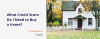 credit score needed to buy a house?